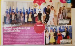Dance amore predsedniška palača 2