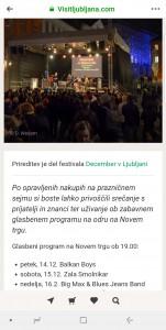 Koncert Zale Smolnikar z bandom - Novi trg - Ljubljana